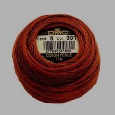 Dmc Pearl Cotton 8 Color Chart Details About Dmc Pearl Perle Cotton Ball Size 8 301 Medium Mahogany