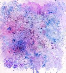Purple And Blue Background Painted Background Colored In Violet Purple Blue And Pink Stock