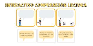 El proyecto de aulas interactivas incluye: Juego Interactivo Comprension Lectora Orientacion Andujar