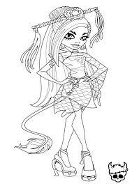 Monster high drawing games