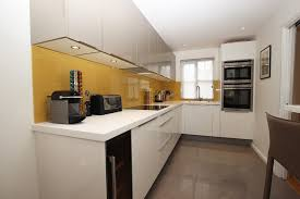 long l shaped kitchen ideas