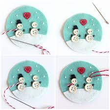 DIY No Sew Christmas Tree Skirt  3 Little GreenwoodsChristmas Felt Crafts