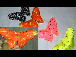 How To Make Butterfly With Chart Paper Youtube How To Make