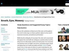 eyes and ears lesson plans worksheets reviewed by teachers breath eyes memory study questions and suggested essay topics