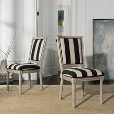 buchanan black ivory rustic gray 19 in h french brerie striped linen rectangular