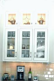 glass inserts for kitchen cabinets stained cabinet doors frosted