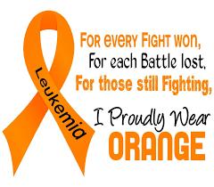 Small Picture orange ribbon for Leukemia Leukemia awareness Cancer awareness