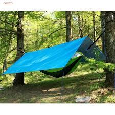 OOTDTY Ultralight Hanging Hammock Outdoor <b>Portable</b> Waterproof ...