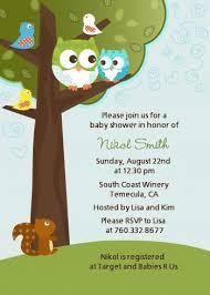 Owl Baby Shower Invitations  Boy Owl Baby Shower InvitationsOwl Baby Shower Invitations For Boy