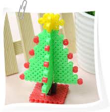 Christmas Present Tags Hama Perler Beads By Millepii89  Tvoříme S Perler Beads Christmas Tree