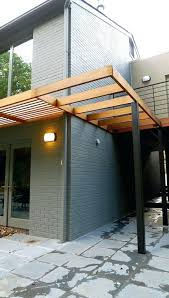 modern pergola for over the garage door porches and trellis wood