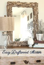 50 easy diy mirror frame ideas you can