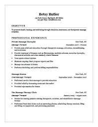 Massage Therapist Resume Sample Massage Therapist Resume Sample With