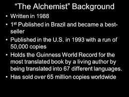 "the alchemist themes motifs allusions vocabulary ppt  24 ""the alchemist"" background"