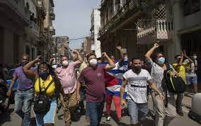 notable protests staged in Cuba