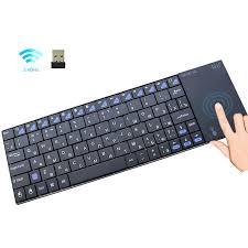 Rii I12Plus 2.4GHz Bàn Phím Mini Không Dây Nga Tiếng Anh Tây Ban Nha Phiên  Bản Tiếng Đức Có Bàn Di Chuột Cho Máy Tính Máy Tính Bảng Android TV Box  IPTV|Keyboards
