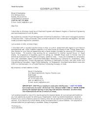 Best Cover Letter For Electrical Engineer Job