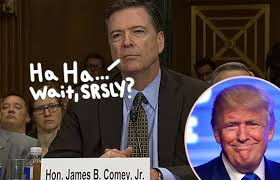 「James B. Comey vs trump」の画像検索結果