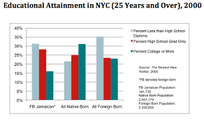 Jamaica Population Chart Jamaican Educational Attainment In Nyc 2000 The Stories Of Us