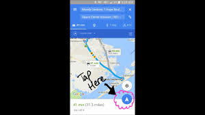 how to get google maps app to open up a web page address