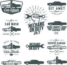 auto mechanic logo vector.  Logo Car Repair Vintage Logos Vector Intended Auto Mechanic Logo Vector