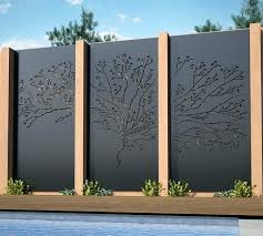 20 outdoor decorative metal privacy