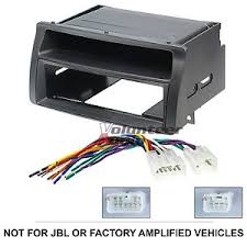 toyota corolla single din car stereo radio install dash mount kit image is loading toyota corolla single din car stereo radio install