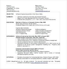 Computer Science Resume Sample Fascinating Sample Resume Fresher Computer Science Graduate Combined With Sample