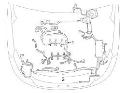 ford oem engine wiring harness db5z14290aea image 2 click to close full size item description this is a ford oem engine wiring harness