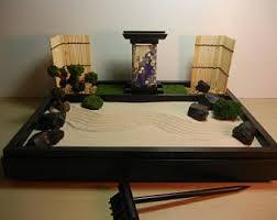 desk garden. Delighful Garden Zen Garden Desk Top Table With Japanese  Lantern And Bonsai Tree Inside Garden R