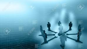 Background For Organizational Chart Organization Chart In Abstract Background