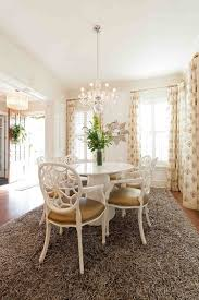 round dining room rugs. Dinning Rooms:Lovely Dining Room With Chandeliers And Round White Table Rugs N