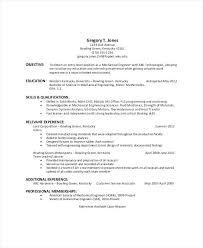 Work Objective For Resume Sample General Resume Social Worker Resume