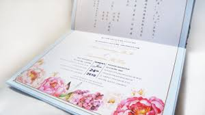 Peony Design Jakarta Floral Collection By Cc Card Bridestory Com