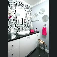 black and pink bathroom accessories. Gray And Pink Bathroom Black Sets Hot Accessories Are Contrasted By A E