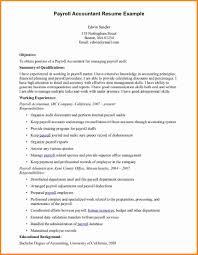 Payroll Accountant Resume Payroll Accountant Cover Letter 24 Payroll Accountant Resume 8