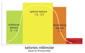 Optimal Ketosis Chart How To Lose Weight By Achieving Optimal Ketosis