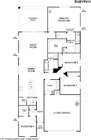 the ruby floor plan