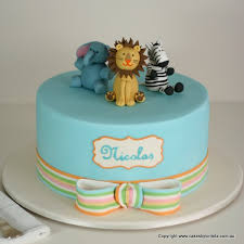 12 Animal Cakes For Boys Photo Safari Animal Birthday Cake Animal