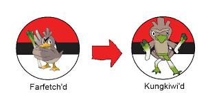 Pokemon Beedrill Evolution Chart Farfetchd Pokemon Fan Fiction Wiki Fandom