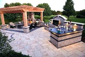 backyard designs with pool and outdoor kitchen. Plain Outdoor Outdoor Kitchen Set Backyard Designs With Pool And Different Ideas Best  Setup Backya On Backyard Designs With Pool And Outdoor Kitchen