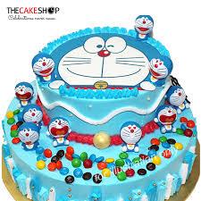 Tcfc06 Doremon Party Cake Delivery Singapore