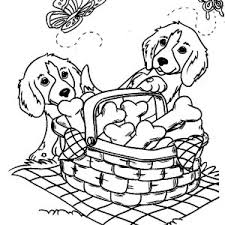 Cute Dog Coloring Pages At Getdrawingscom Free For Personal Use