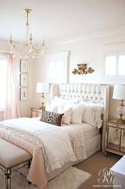 Pretty Bedroom Pink And Gold Girls Bedroom Makeover Pretty Bedroom