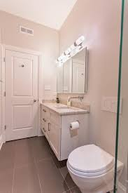 modern bathroom taupe countertop bathroom taupe floor tile adds depth to this bathroom s