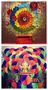 15 Simple And Creative Homemade Ganpati Decoration Ideas