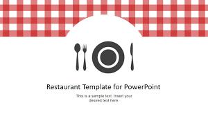 Menu Presentation Design Restaurant Menu Powerpoint Template