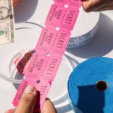 2 part raffle tickets carnival king magenta 2 part raffle tickets 2000 roll