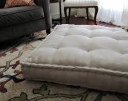 oversized floor cushions. Contemporary Cushions Linen Floor Pillow Oversized Cushion With French Mattress Quilting  Stuffed 36x36x6 Pouf Seating Custom Sizes Available Intended Cushions L
