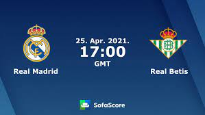 Real Madrid Real Betis live score, video stream and H2H results - SofaScore